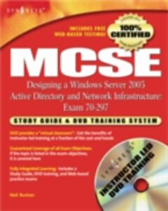 Foto Cover di MCSE Designing a Windows Server 2003 Active Directory and Network Infrastructure(Exam 70-297), Ebook inglese di Syngress, edito da Elsevier Science