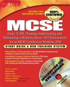 Ebook in inglese MCSE: Planning, Implementing and Maintaining a Windows Server 2003 Environment for an MCSE Certified on Windows 2000 (Exam 70-296) Syngres, yngress