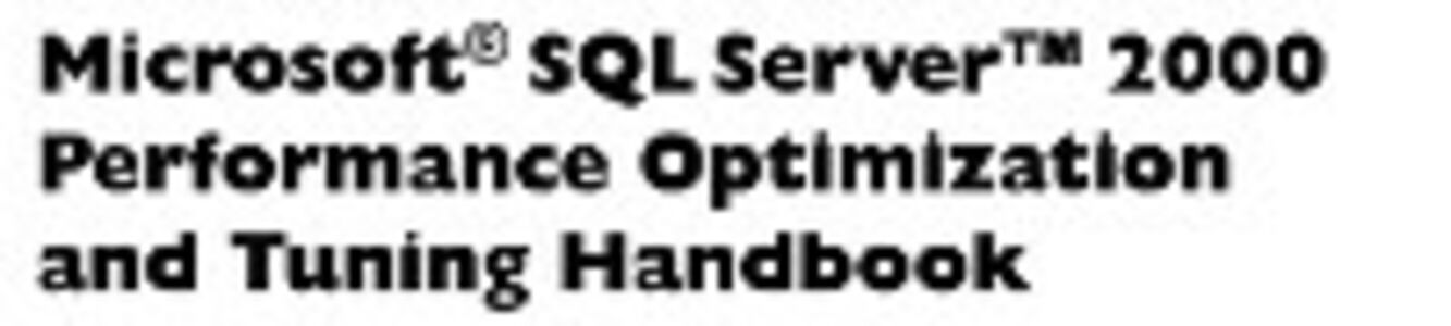 Ebook in inglese Microsoft SQL Server 2000 Performance Optimization and Tuning Handbook England, Ken