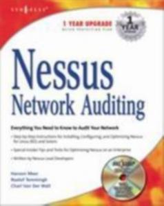 Ebook in inglese Nessus Network Auditing Beale, Jay , Deraison, Renaud , Meer, Haroon , Walt, Charl van der