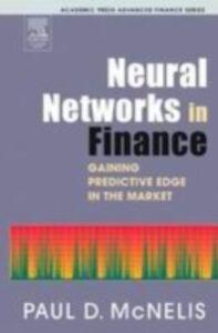 Foto Cover di Neural Networks in Finance, Ebook inglese di Paul D. McNelis, edito da Elsevier Science