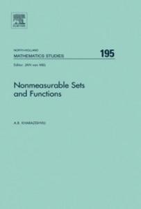 Ebook in inglese Nonmeasurable Sets and Functions Kharazishvili, Alexander