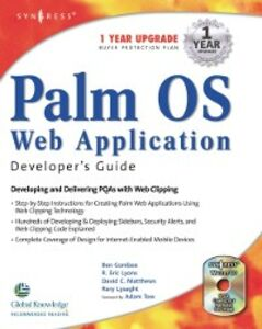 Ebook in inglese Palm OS Web Application Developers Guide Combee, Ben , Lyons, Eric R. , Lysaght, Rory , MATTHEWS, DAVID C.
