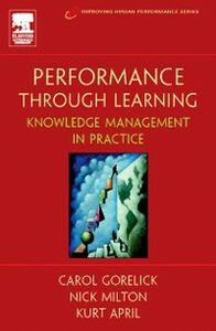 Foto Cover di Performance Through Learning, Ebook inglese di AA.VV edito da Elsevier Science