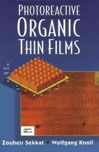 Ebook in inglese Photoreactive Organic Thin Films -, -