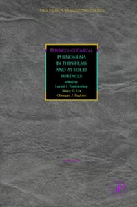 Ebook in inglese Physico-Chemical Phenomena in Thin Films and at Solid Surfaces -, -