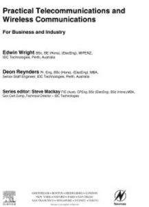Ebook in inglese Practical Telecommunications and Wireless Communications Reynders, Deon , Wright, Edwin