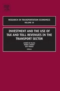 Ebook in inglese Investment and the use of Tax and Toll Revenues in the Transport Sector -, -