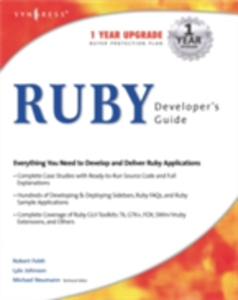 Ebook in inglese Ruby Developers Guide Syngres, yngress