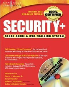 Foto Cover di Security + Study Guide and DVD Training System, Ebook inglese di Syngress, edito da Elsevier Science