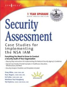 Ebook in inglese Security Assessment Syngres, yngress