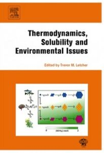 Foto Cover di Thermodynamics, Solubility and Environmental Issues, Ebook inglese di  edito da Elsevier Science