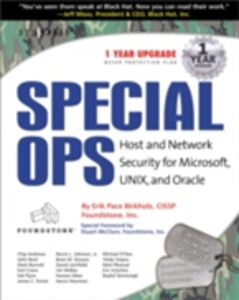 Ebook in inglese Special Ops: Host and Network Security for Microsoft Unix and Oracle Syngres, yngress