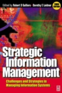 Foto Cover di Strategic Information Management, Ebook inglese di  edito da Elsevier Science