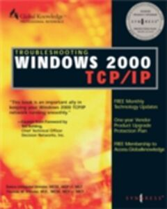 Ebook in inglese Troubleshooting Windows 2000 TCP/IP Syngress