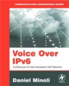 Ebook in inglese Voice Over IPv6 Minoli, Daniel