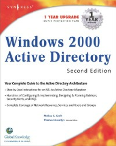 Ebook in inglese Windows 2000 Active Directory 2E Syngres, yngress