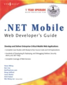 Ebook in inglese .NET Mobile Web Developers Guide Syngress