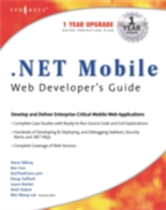 Ebook in inglese .NET Mobile Web Developers Guide Syngres, yngress