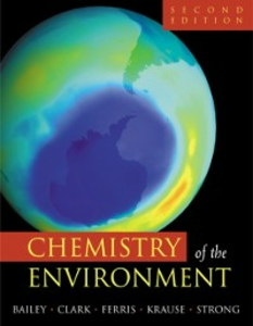 Ebook in inglese Chemistry of the Environment Bailey, Ronald A. , Clark, Herbert M. , Ferris, James P. , Krause, Sonja