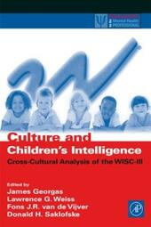 Culture and Children's Intelligence