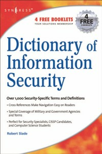 Ebook in inglese Dictionary of Information Security Slade, Robert
