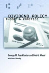 Ebook in inglese Dividend Policy Frankfurter, George , Wansley, James , Wood, Bob G.