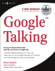 Ebook in inglese Google Talking Brashars, Joshua , Long, Johnny