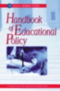 Ebook in inglese Handbook of Educational Policy