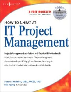 Ebook in inglese How to Cheat at IT Project Management Snedaker, Susan
