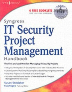 Ebook in inglese Syngress IT Security Project Management Handbook Snedaker, Susan