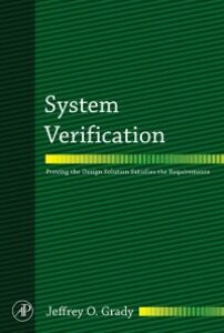 Foto Cover di System Verification, Ebook inglese di Jeffrey O. Grady, edito da Elsevier Science