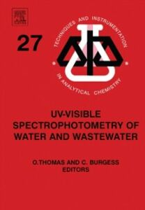 Foto Cover di UV-visible Spectrophotometry of Water and Wastewater, Ebook inglese di  edito da Elsevier Science