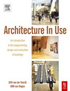 Ebook in inglese Architecture In Use Voordt, DJM van der , Wegen, HBR van