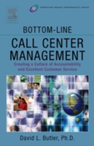 Ebook in inglese Bottom-Line Call Center Management Butler, David L.