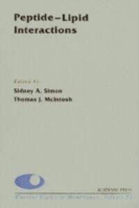 Foto Cover di Peptide-Lipid Interactions, Ebook inglese di  edito da Elsevier Science