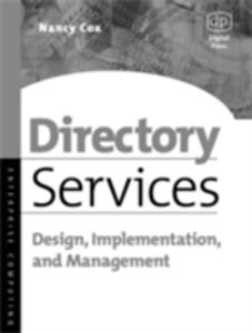 Ebook in inglese Directory Services Cox, Nancy