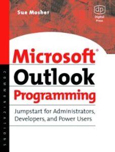 Ebook in inglese Microsoft Outlook Programming Mosher, Sue