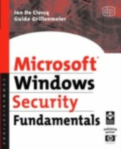 Ebook in inglese Microsoft Windows Security Fundamentals Clercq, Jan De , Grillenmeier, Guido