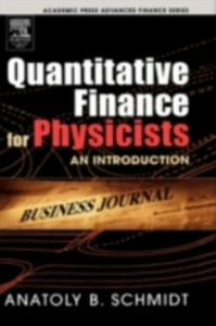 Ebook in inglese Quantitative Finance for Physicists Schmidt, Anatoly B.