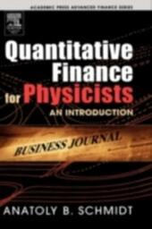 Quantitative Finance for Physicists