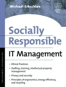 Ebook in inglese Socially Responsible IT Management Erbschloe, Michael