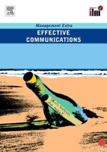 Ebook in inglese Effective Communications Elear, learn