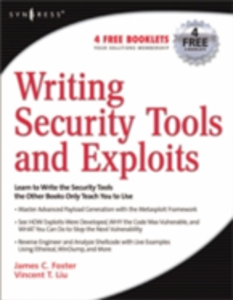 Ebook in inglese Writing Security Tools and Exploits Foster, James C