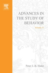 Ebook in inglese Advances in the Study of Behavior -, -