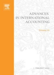 Foto Cover di Advances in International Accounting, Ebook inglese di  edito da Elsevier Science