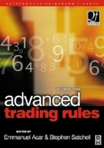 Ebook in inglese Advanced Trading Rules -, -