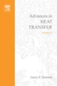 Foto Cover di Advances in Heat Transfer, Ebook inglese di James P. Hartnett, edito da Elsevier Science