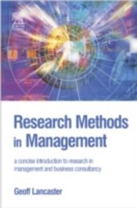 Ebook in inglese Research Methods in Management Lancaster, Geoff