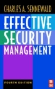 Ebook in inglese Effective Security Management Sennewald, Charles A.
